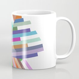 lines with triangles Coffee Mug
