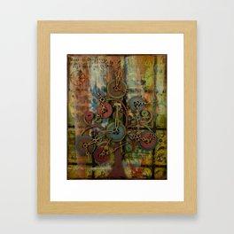 Time Tree Framed Art Print