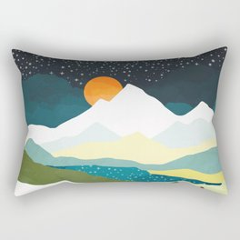 Winters Night Rectangular Pillow