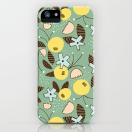 Sexy & Free Floral iPhone Case