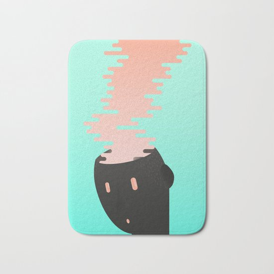 Brain combustion Bath Mat