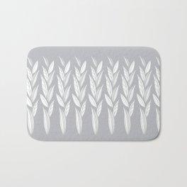 Eternity in Silver Leaf Bath Mat