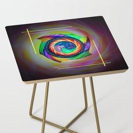 Abstract in perfection 121 Side Table