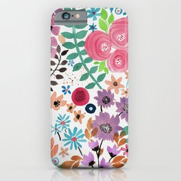 Forest of Flowers 2 iPhone Case
