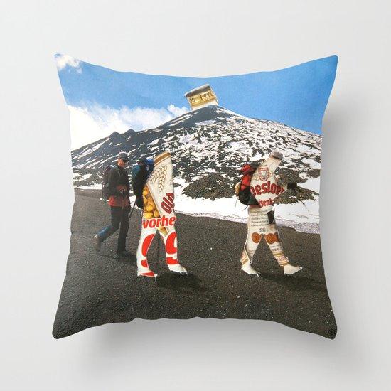 Surreala Alpina 31 · Crop Circle Throw Pillow