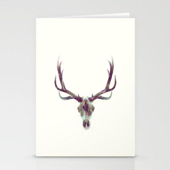 Elk Skull Stationery Cards