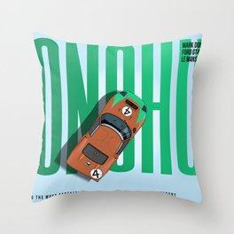 Mark Donohue Tribute Throw Pillow