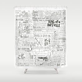 Dear Diary... Shower Curtain