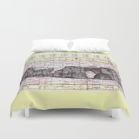 kansas Duvet Covers featuring Kansas by Ursula Rodgers