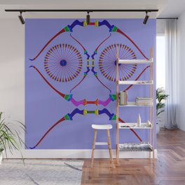 Bows and Arrows Design 4 Wall Mural