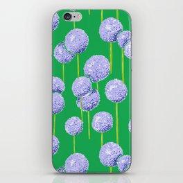 Allium - Blue iPhone Skin