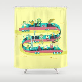 The Limo Shower Curtain