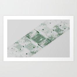 Processed Art Print