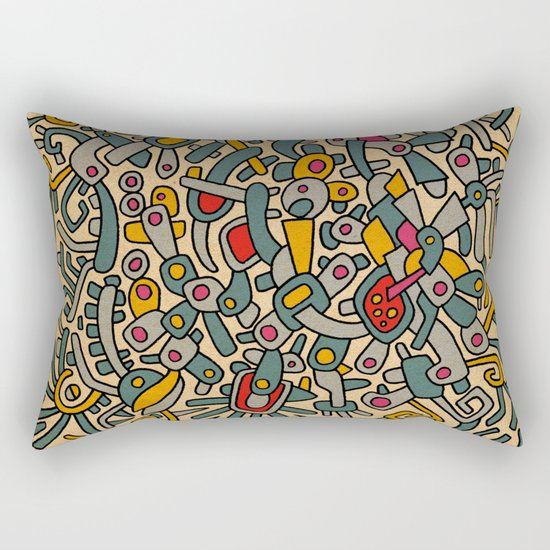 - fossils - Rectangular Pillow