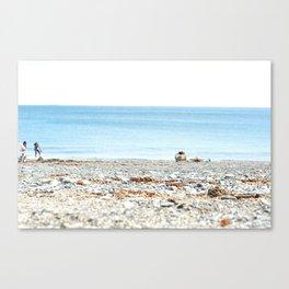 Marblehead Beach Canvas Print