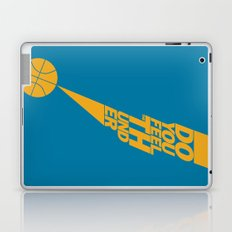 Do You Feel the Thunder? (Blue) Laptop & iPad Skin