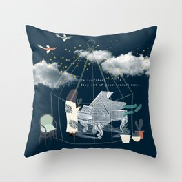 Step Out of Your Comfort Zone 3 Throw Pillow