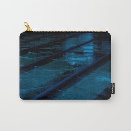 Blue Glass Waterfall Carry-All Pouch