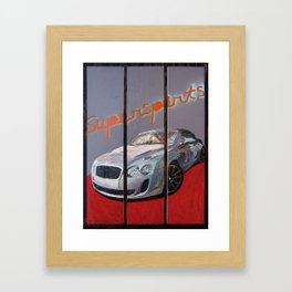Supersports Framed Art Print