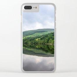 Talybont Reservoir. Clear iPhone Case