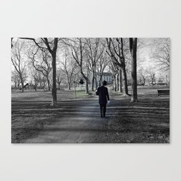 It's a long road to nowhere Canvas Print
