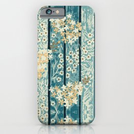 Lilacs & Phylox in Stripe By Danae Anastasiou iPhone Case
