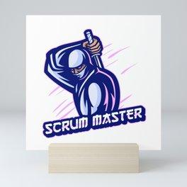 Scrum Master expert Mini Art Print