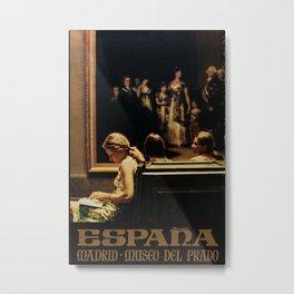 Espana Vintage Travel Poster Metal Print