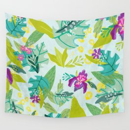 Tropical Retreat Wall Tapestry