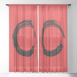 Mindfulness Sheer Curtain