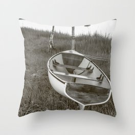 Resting Vessel Throw Pillow