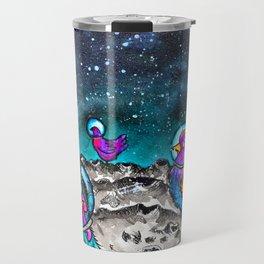 Space Chickens Travel Mug