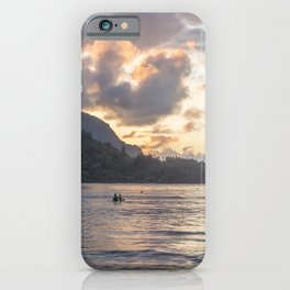 Sunset at Hanalei Bay, No. 3 iPhone Case