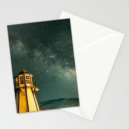 Mountain Light House Stationery Cards