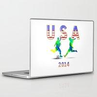 usa Laptop & iPad Skins featuring USA by Tami Cudahy