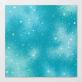 Winter Nebula Canvas Print