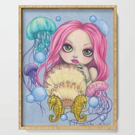 Amora, the Jellyfish Whisperer Serving Tray