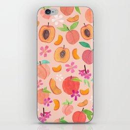 Apricot, Nectarine, & Peaches iPhone Skin