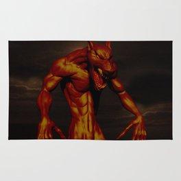 Bronze Werewolf Rug