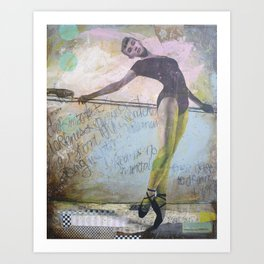 Dark Dreamer Art Print