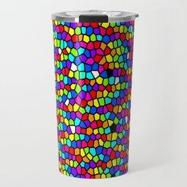 Drops Of Rainbow Travel Mug
