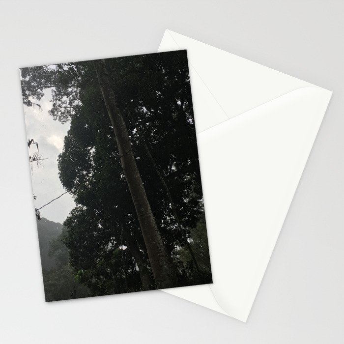 Forest in Malaysia Stationery Cards