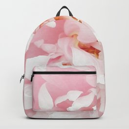 Pink Peony Backpack