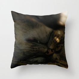 go away. Throw Pillow