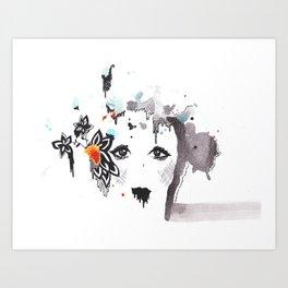I'm Falling Apart Art Print