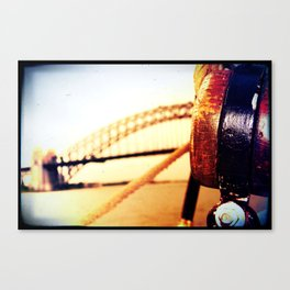 BRIDGE BY SEA Canvas Print
