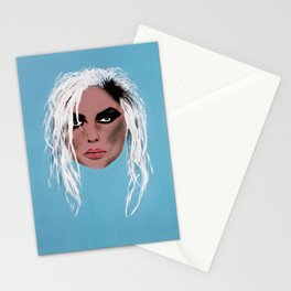 Lady of the eighties - Painting Stationery Cards