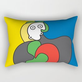 Ooh Zoo – art-series, Picasso Rectangular Pillow