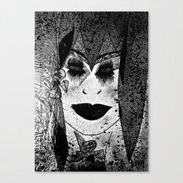 Miss Dignity tetkaART Canvas Print