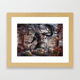 Amsterdamned Framed Art Print